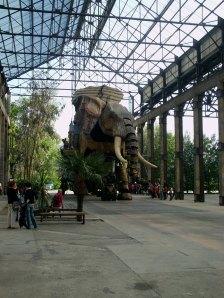 L'éléphant des Machines de l'ïle en balade