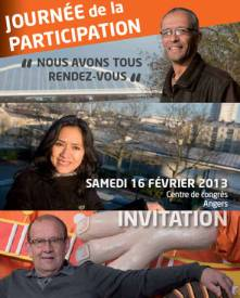 Journée de la participation 2013, Angers